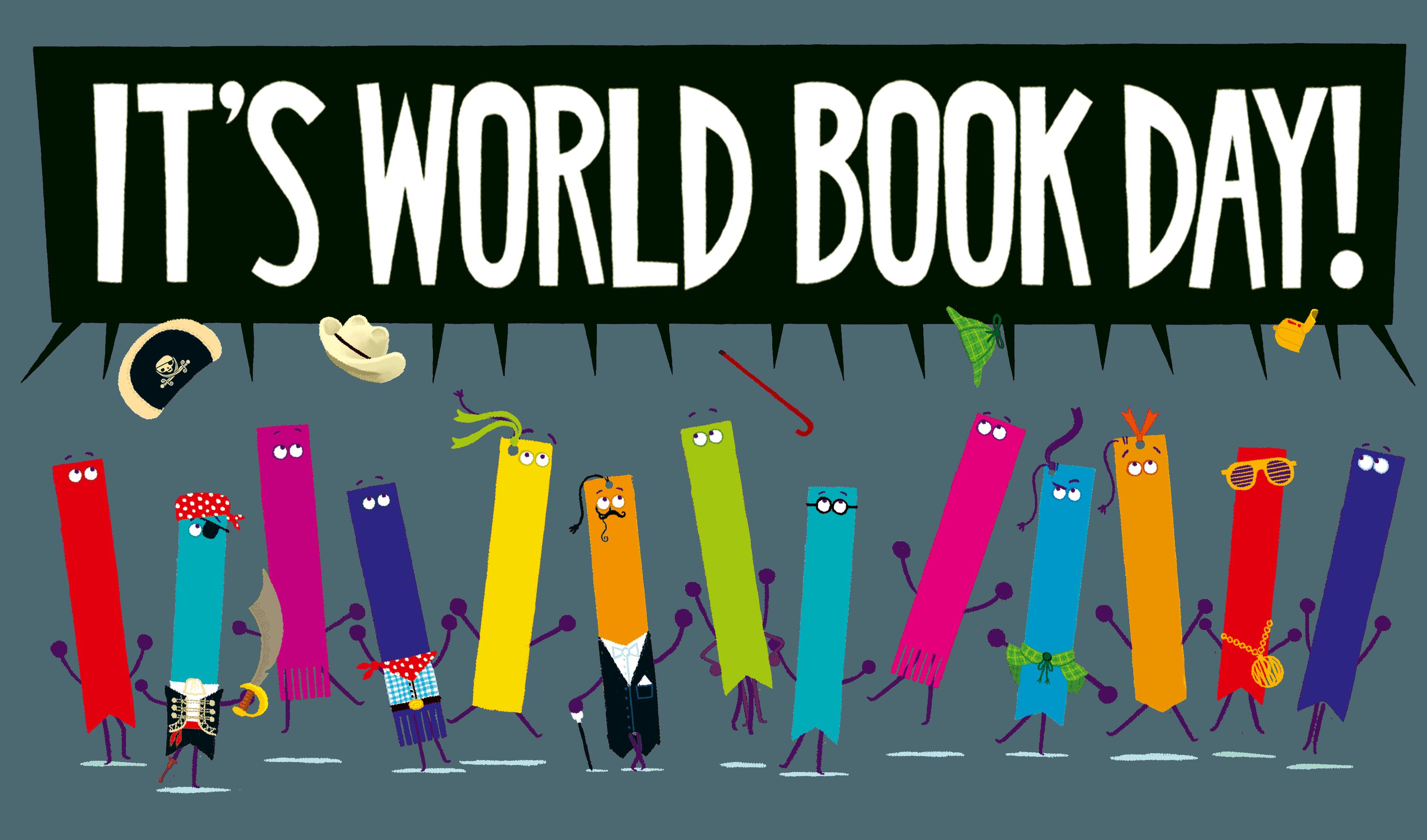 World Book Day 2020. Illustrations © RobBiddulph