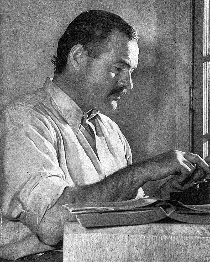 Ernest Hemingway writer
